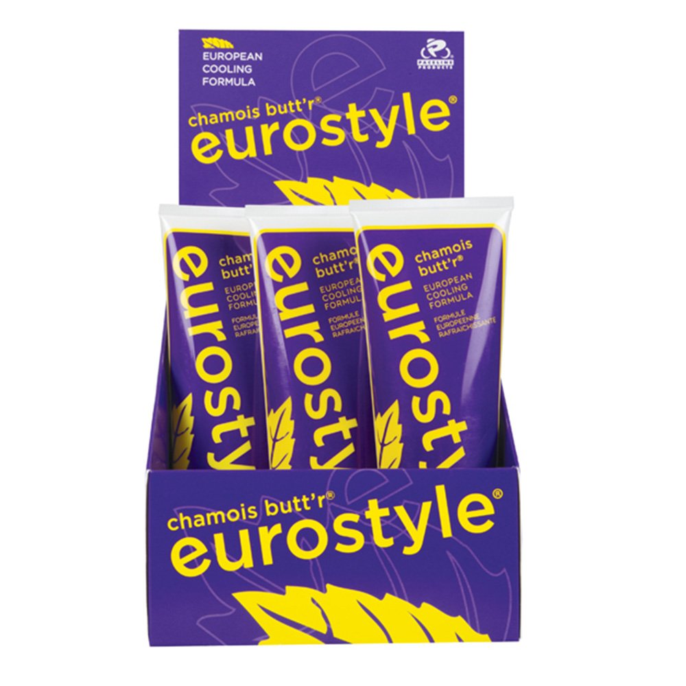 Chamois Butt'r Eurostyle 9mL Packets - 75 Count