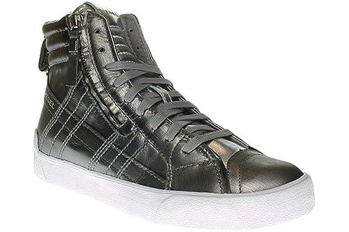 Diesel - Zapatillas de Piel para Mujer, Color, Talla 40