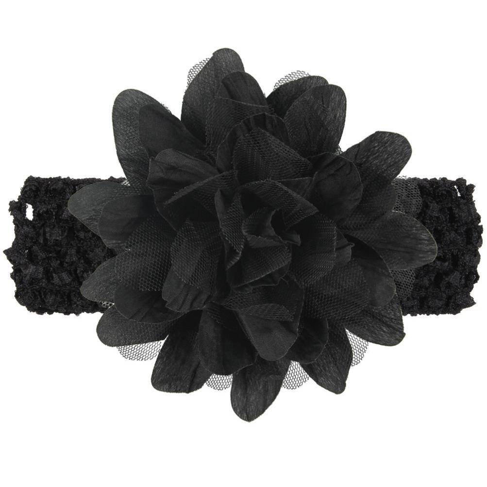 Hot Pink haarschmuck,bobo4818 Babys Blume / Stirnband Lace Bow Haarband Blume Headclip