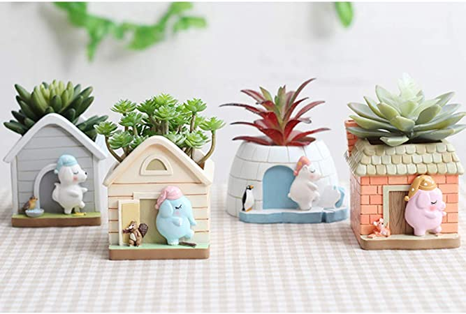 Sunydog 12 pi/èces Mini Jardin Plantation doutils Ensemble bonsa/ï succulentes Transplantation Miniature f/ée Mini Jardin Plantation Jardinage Outils /à Main