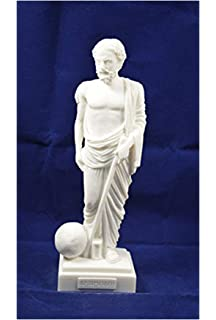 Art Sophocles Alabaster Sculpture Patina Aged Artifact Ancient Greek High Quality