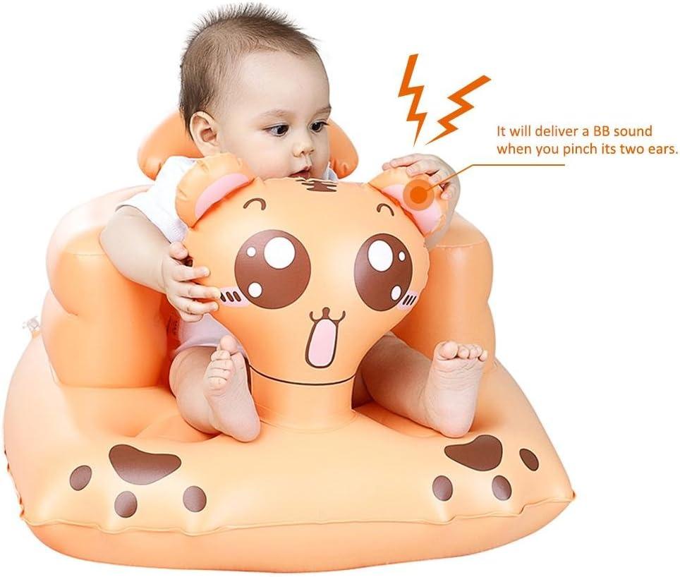 Alimentar el Taburete ba/ñarse Envisioni Sof/á Inflable para beb/és Asiento port/átil Utilizado como beb/é para Aprender a Sentarse Hacer un Picnic