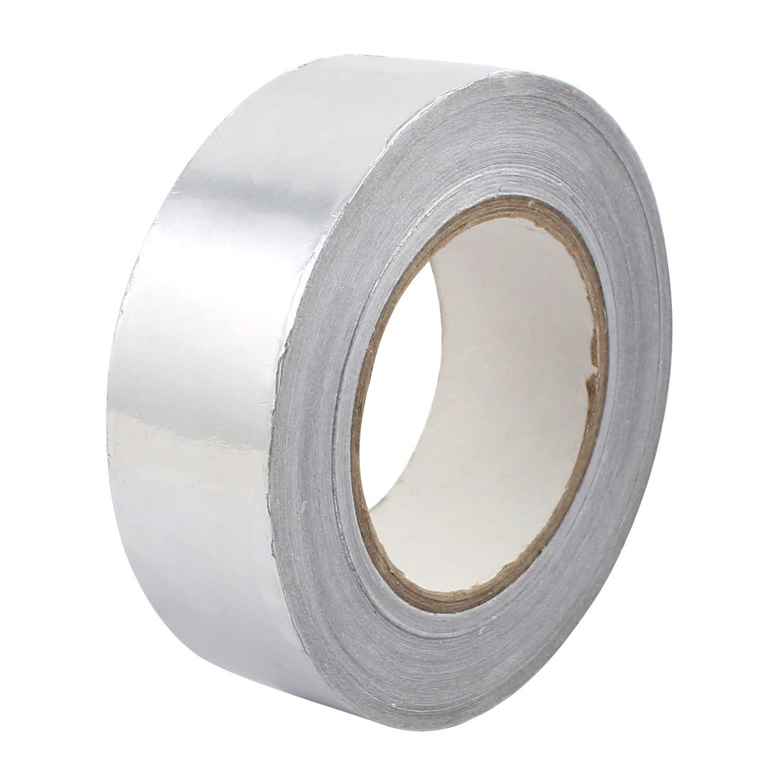 uxcell 40mm Width 0.06mm Thickness Aluminum Foil Tape Shield Duct Repair 50m Length