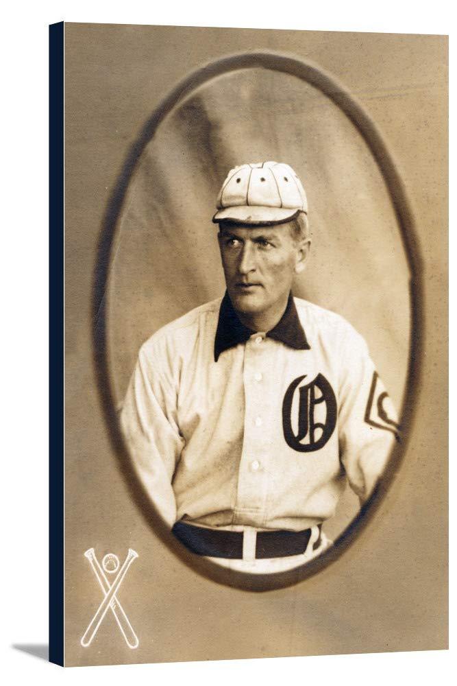 Oakland Pacific Coast League – Harry Wolverton – 野球カード 24 x 36 Gallery Canvas LANT-3P-SC-23476-24x36 24 x 36 Gallery Canvas  B018C2CJEC