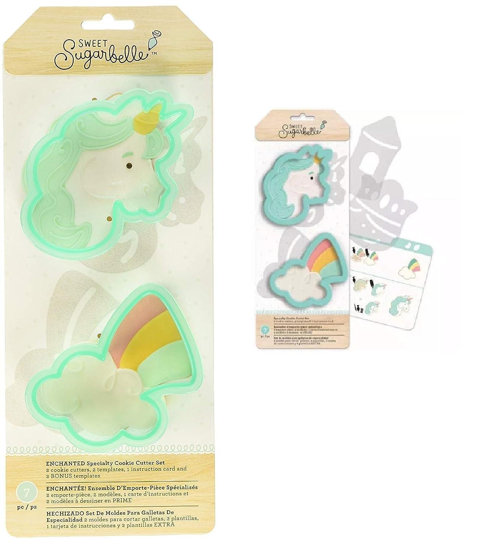takestop® Juego de 2 Piezas moldes moldes sugarbelle Formas ...