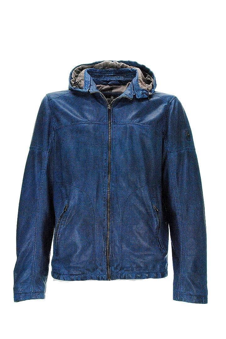 MILESTONE Mens Coat Blue Blue