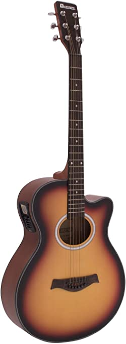 Guitarra Western BRUCE con pickup, sunburst - Guitarra country ...