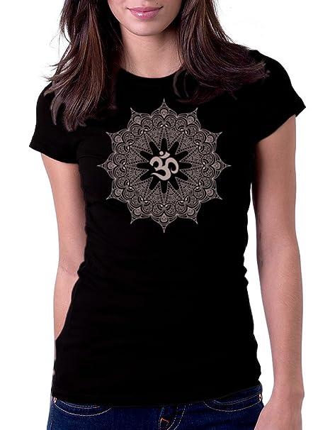 Amazon.com  Gbond Apparel Women s Mandala Om Tee T-Shirt  Clothing c0e4d4d2de
