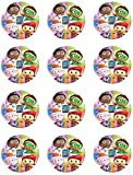 Super Why Edible Cupcake Toppers - Set of 12