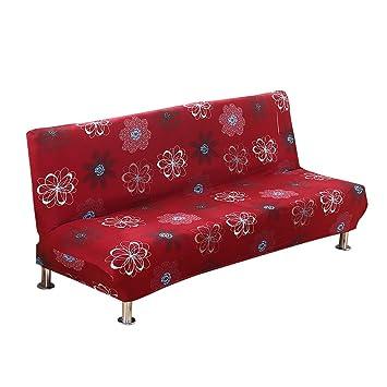 Amazon.com: MIFXIN Funda de sofá sin brazos, elástica ...