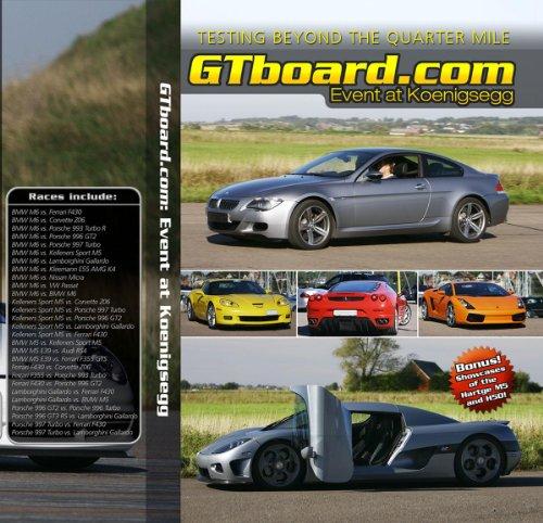 gtboard.com: Event at Koenigsegg, DVD-version