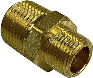 EDGE INDUSTRIAL Brass REDUCING HEX Nipple 1/2