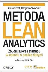 Metoda Lean Analytics: Zbuduj sukces startupu w oparciu o analize danych Capa comum