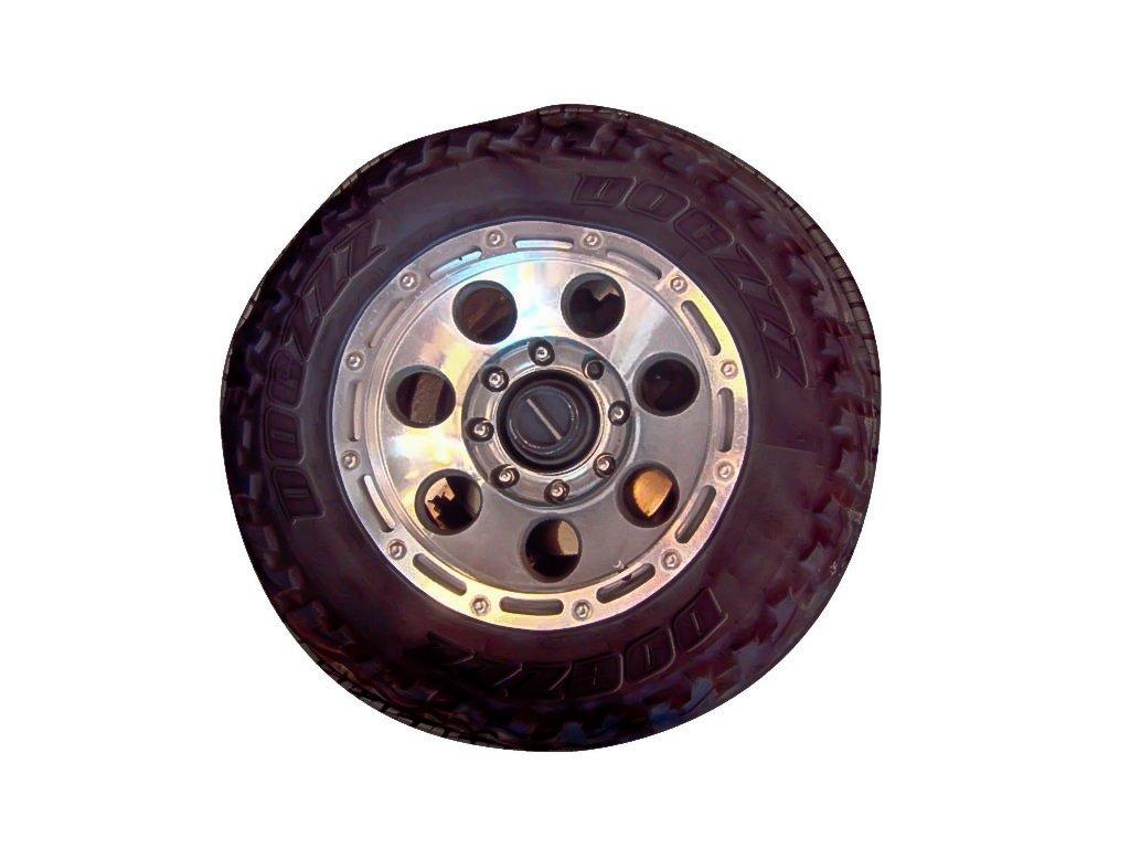 DogZZZZ Tire Bed Small Round