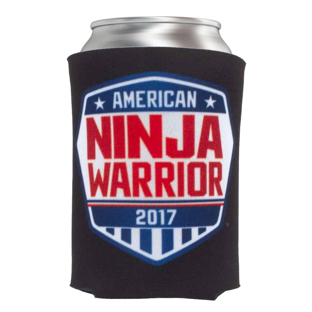 American Ninja Warrior Insulated Beverage Cooler ANW-BC-BLK