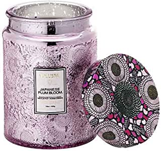product image for Voluspa Large Embossed Glass Jar Candle Crane Flow