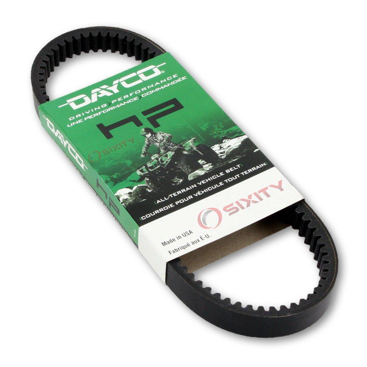 2006-2007 Polaris Ranger 4x4 500 EFI Drive Belt Dayco HP ATV OEM Upgrade Replacement Transmission Belts