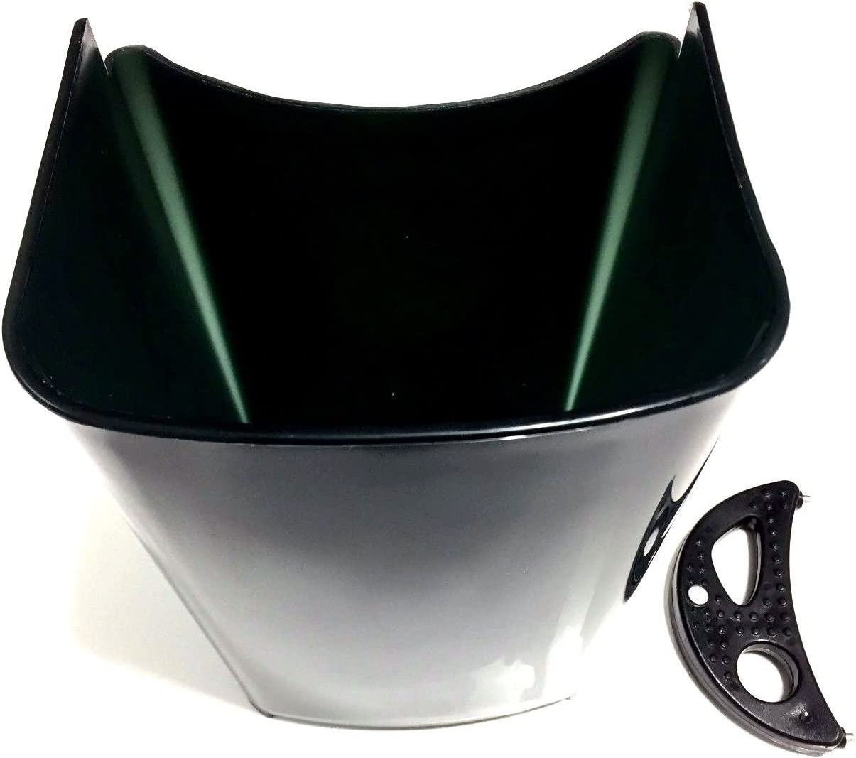 PurrsianKitty Replacement Pulp Collector Basket Bucket & Crescent Tool Combo for Jack Lalanne Power Juicer - READ DESCRIPTION TO MAKE SURE IT FITS!