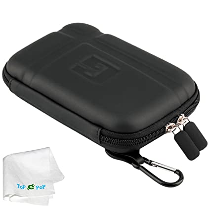 sports shoes 3b501 5112f TOPEPOP GPS Carrying Case Portable Hard Shell Protective Pouch Storage Bag  Hard GPS Case Compatible with Car GPS Navigator Garmin Nuvi Tomtom Magellan  ...
