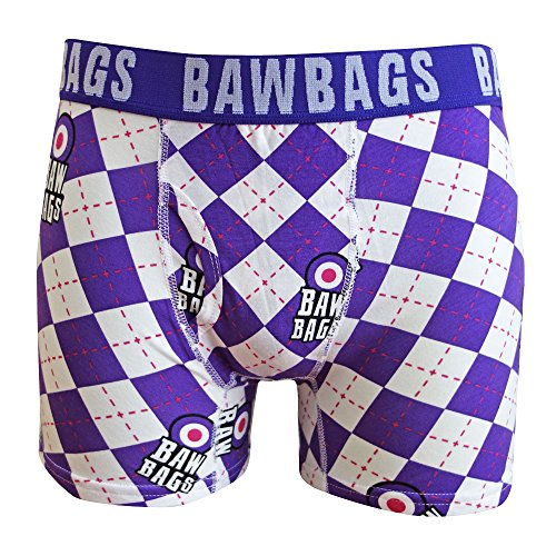 BawBags Argyle Boxers - XXS/22-24