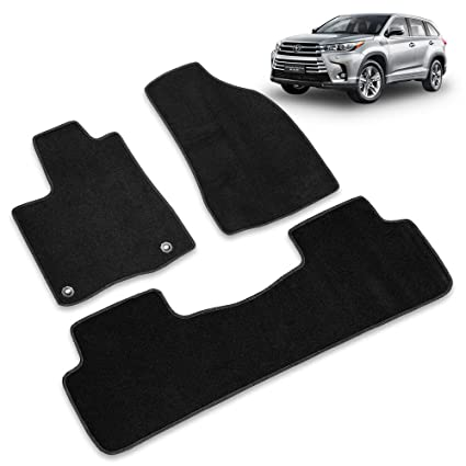 Amazon Com For 2013 2019 3th Generation Toyota Highlander 5 Seats