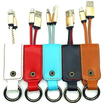 RENNICOCO Multifuncional Creative Cuero Llavero USB Mini ...