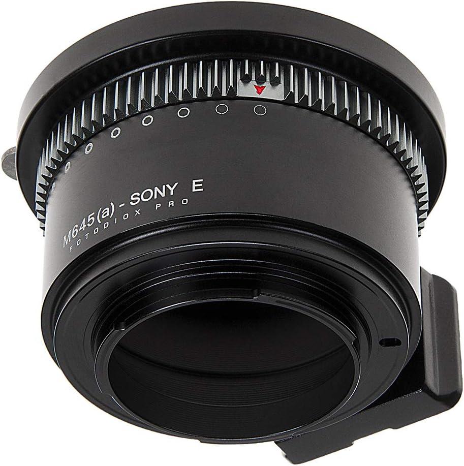 NEX-6 NEX-7 NEX-5 for NEX-3 NEX-5R NEX-3N E-Mount 2//3 Camera Body B4 Fotodiox Pro Lens Mount Adapter Lens to Sony NEX
