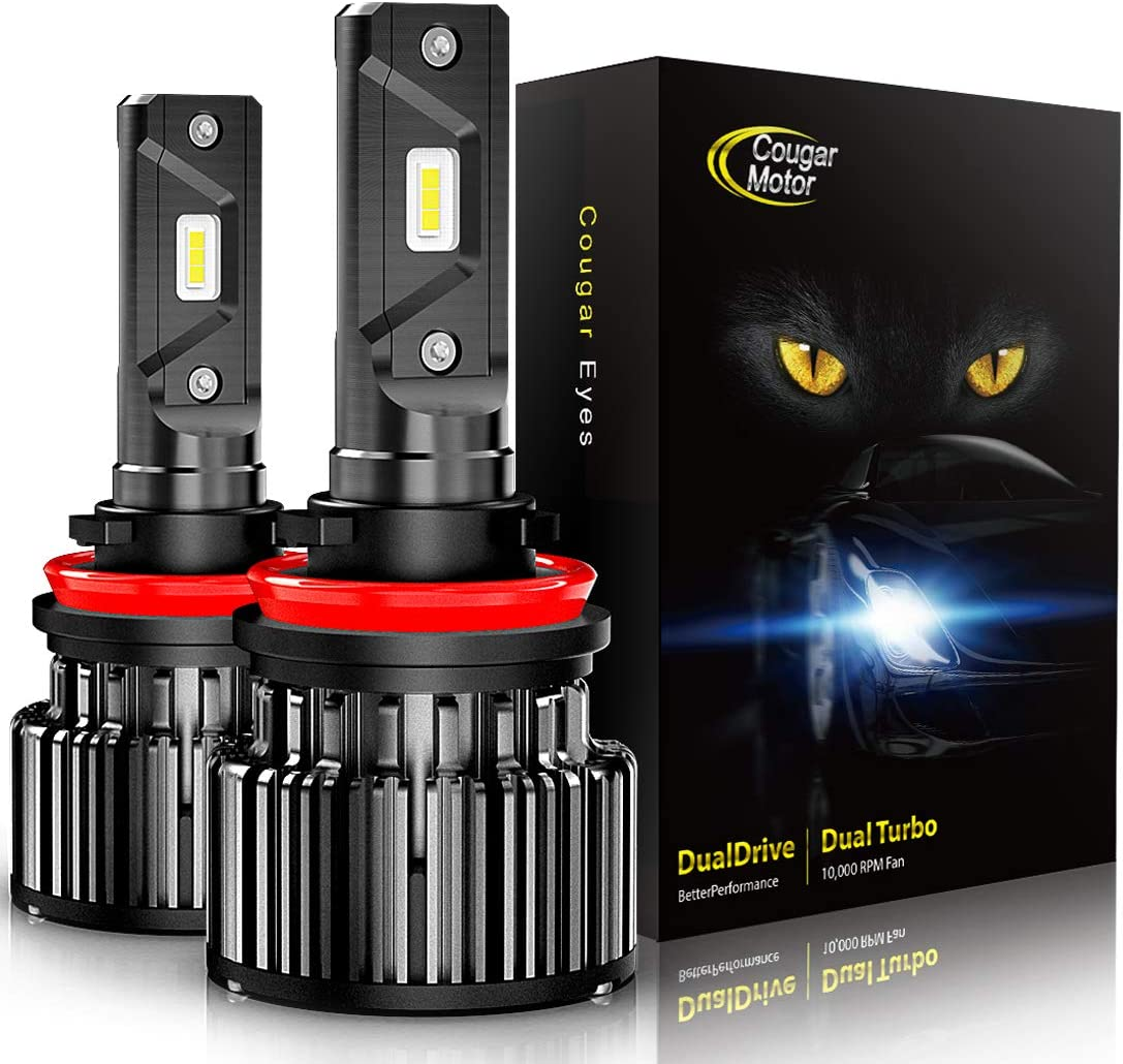 Cougar Motor LED Headlights Review