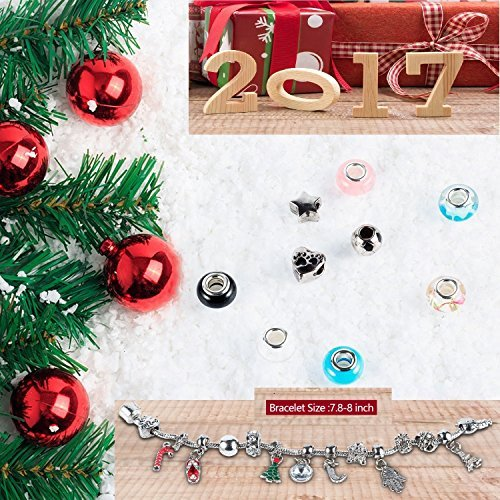 Mouttop Advent Calendar Made With Pandora Diy Beads Charms