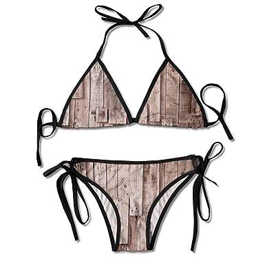 Amazon.com: Traje de baño personalizado para mujer, dos ...