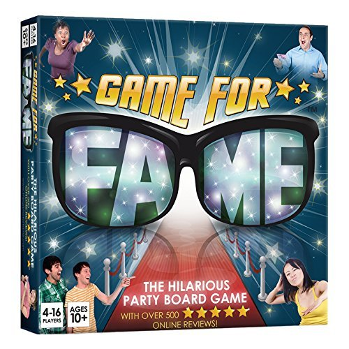 Game For Fame The Hilarious Party Board Game [並行輸入品] B07SGVQ6K7