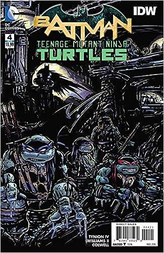 BATMAN TEENAGE MUTANT NINJA TURTLES #4 1:50 Kevin Eastman ...