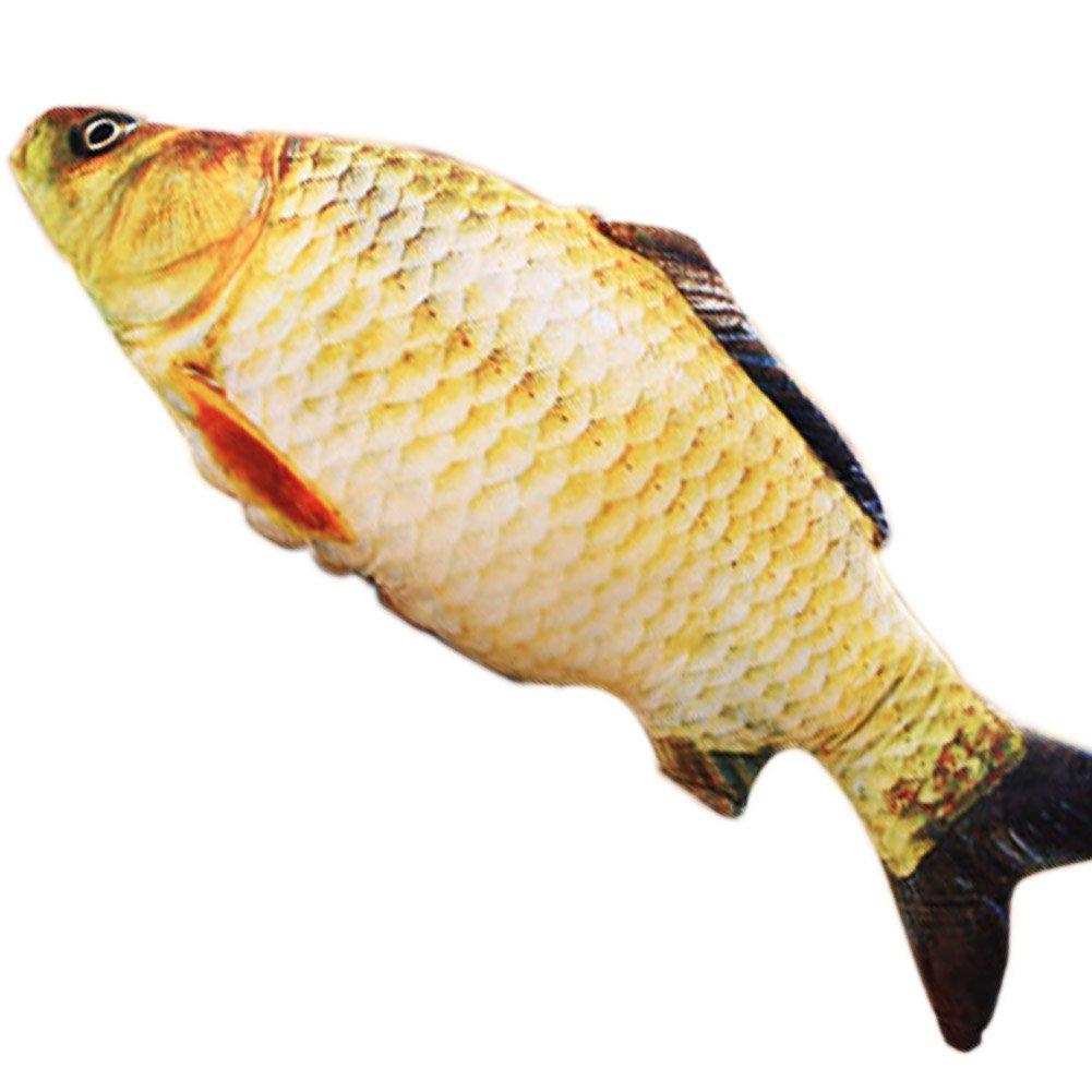Cuscino a forma di pesce alla carpa Novità regali di Natale, grandi giocattoli di peluche lunghi 23 pollici (60 cm) Che Piccino