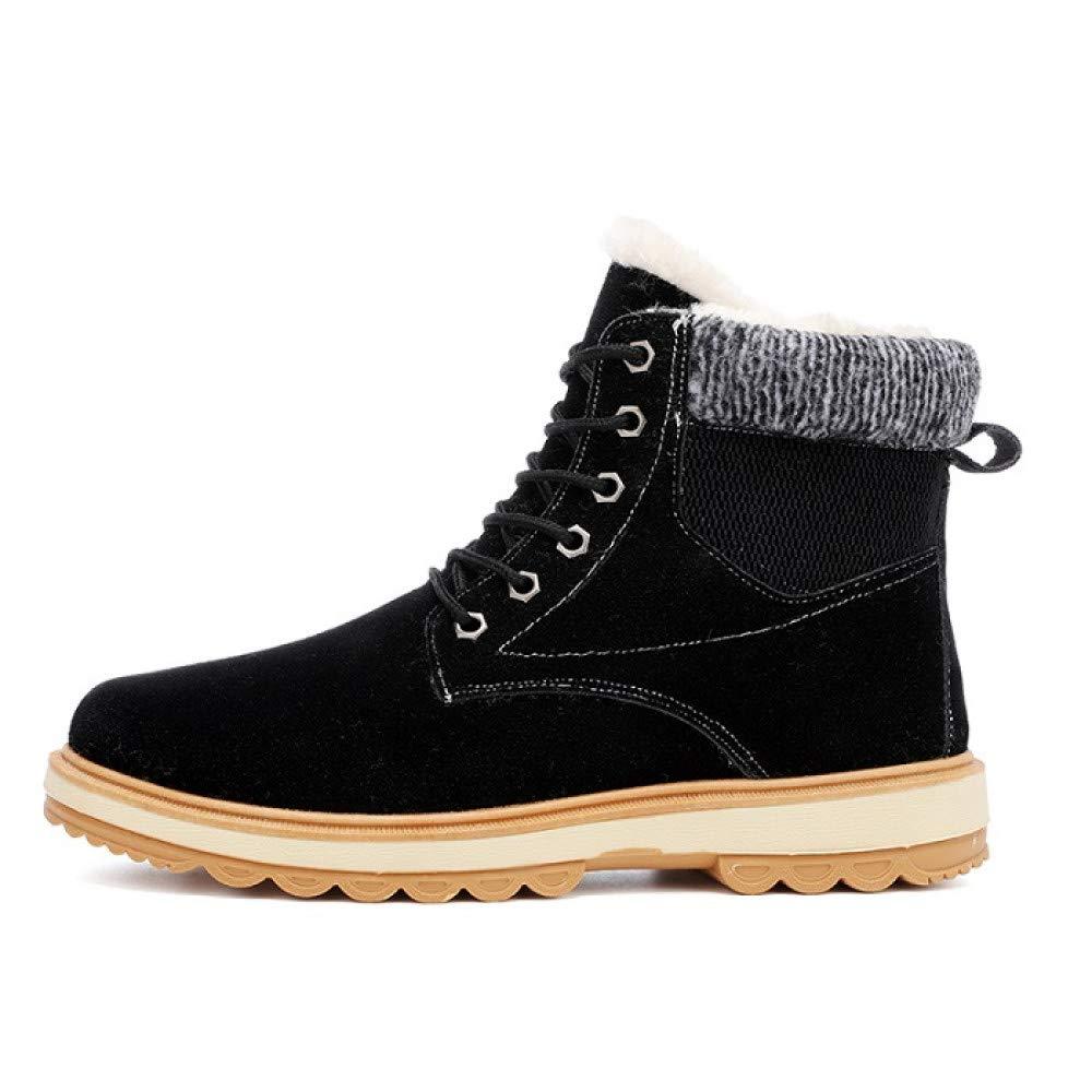 FHCGMX Mode Winter Warme Männer Stiefel Männer Warme Stiefeletten Für Männer Schuhe Erwachsene Casual Flock Turnschuhe Männliche Stiefel 78568a