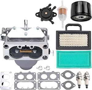 Mannial 791230 799230 699709 499804 Carburetor for 20HP 21HP 23HP 24HP 25HP intek V-Twin 4 Cycle Engine MIA10632 LA135 LA120 LA130 LA140 LA150 LA145