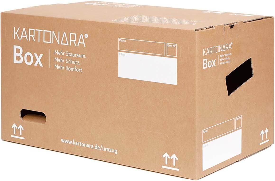 Caja de cartón profesional para mudanzas, 67 litros, 45 kg, 2 ondulaciones, caja de cartón, 15 – 900 cajas XXL: Amazon.es: Oficina y papelería