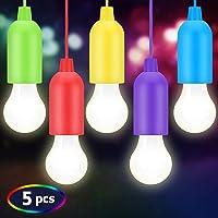 BINKE Lámpara LED para Acampar,Lamping LED Lamp,Portátil Lámpara del Cordón al Aire Libre/Interior Senderismo, Jardín,Pesca, Escritorio, Camping,Fiesta, Boda