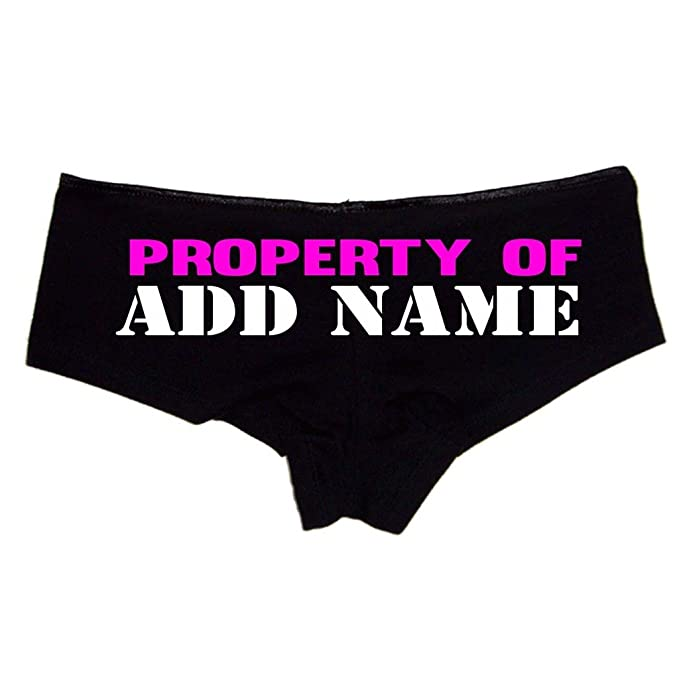 4efb3f87a664 Create Your Own Personalized Property of Sexy Cute Booty Shorts at Amazon  Women's Clothing store: