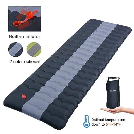 Amazon.com: YSXHW - Colchoneta de dormir autoinflable de ...