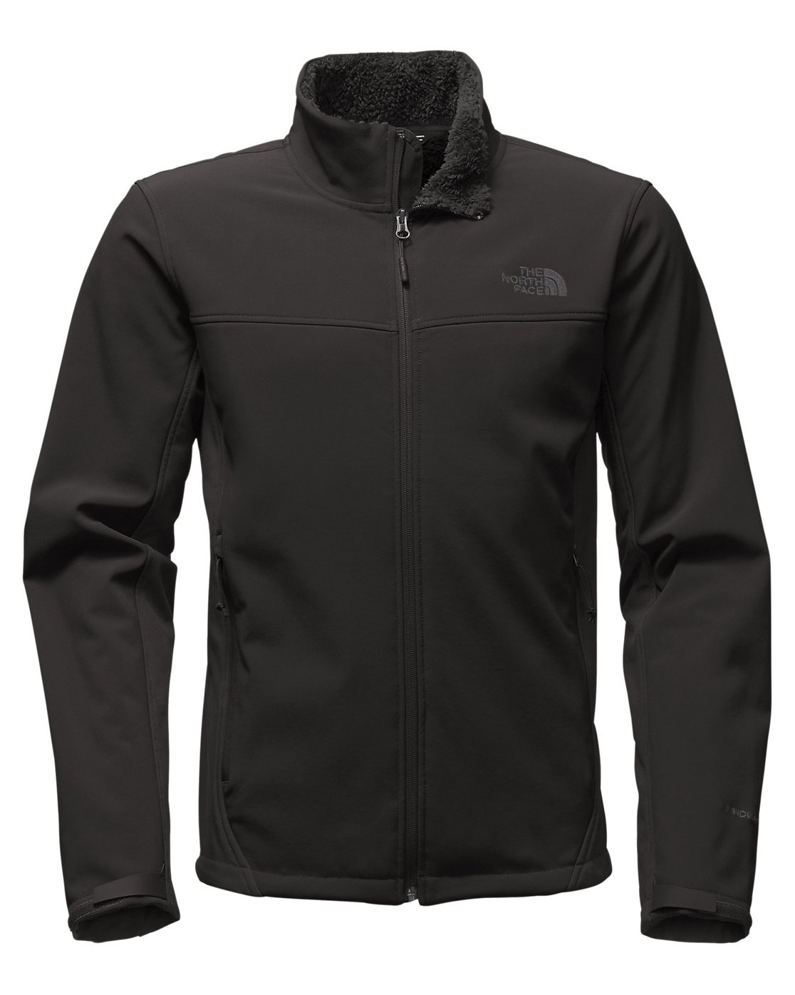 The North Face Apex Chromium Thermal Soft Shell Jacket - Small/TNF Black-TNF Black