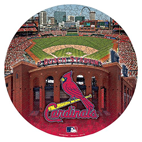Puzzle Piece 500 Cardinals - MLB St. Louis Cardinals Puzzle (500 Piece), 20.25