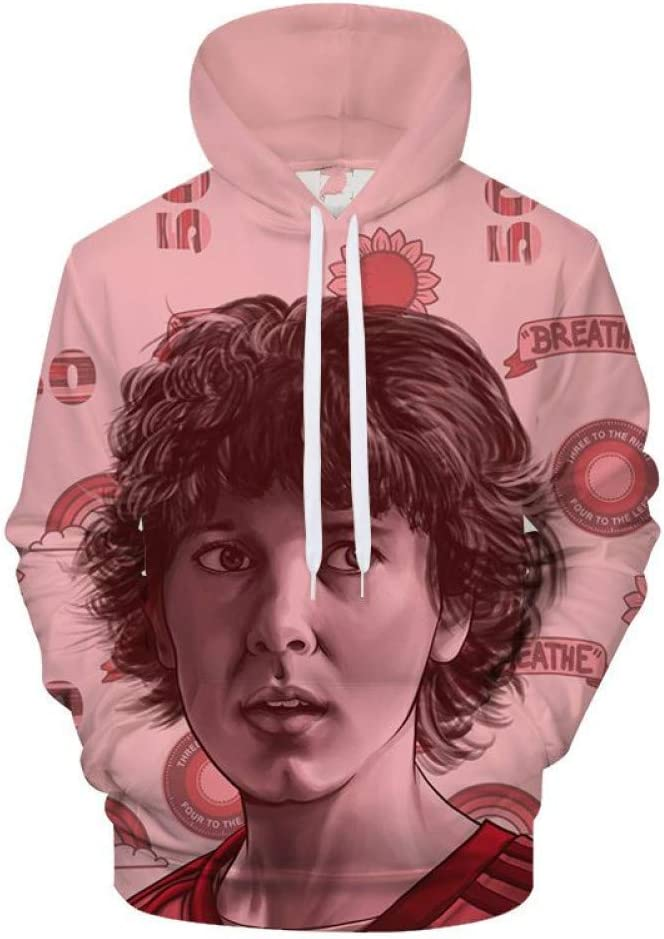 BAI Aassdd 3D Print Hoodies Sweatshirts Männer Frauen Casual Sweatshirt mit Kapuze Overall Pullover Mantel,S S