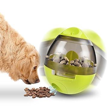 Pelota de Comida para Mascotas, Tratamiento Divertido e Interactivo, Bola dispensadora para Perros y