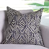 Global Views French Modern Pearl Gooseye Grey Pillow