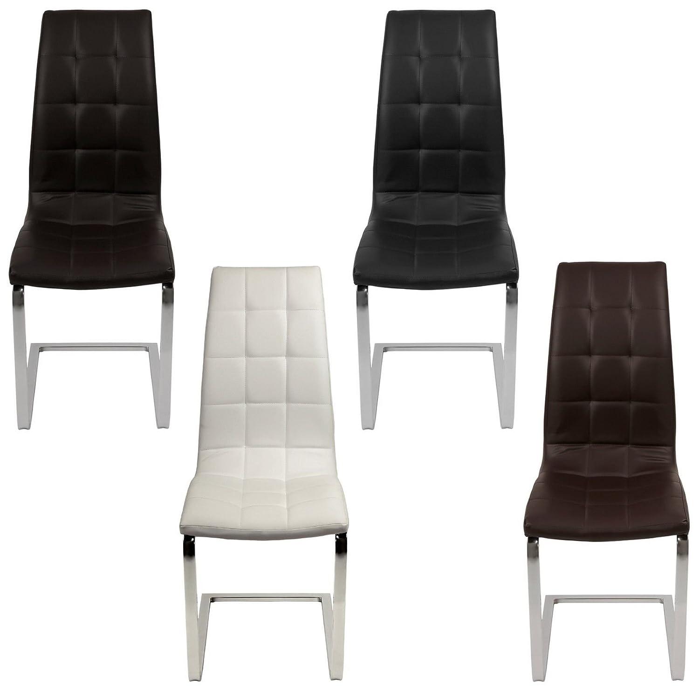 ESTEXO® Esszimmerstühle Stühle 2/4/6/8 St. Küchenstuhl Freischwinger ...