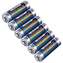 Neewer 6 Pack Count LR6 Alkaline AA Lithium Batteries 1.5V 2800mAh Reliable Long Lasting Power for Canon, Nikon, Sony Flashes, LED Video Lights, Battery Grips with AA Battery Holder and More