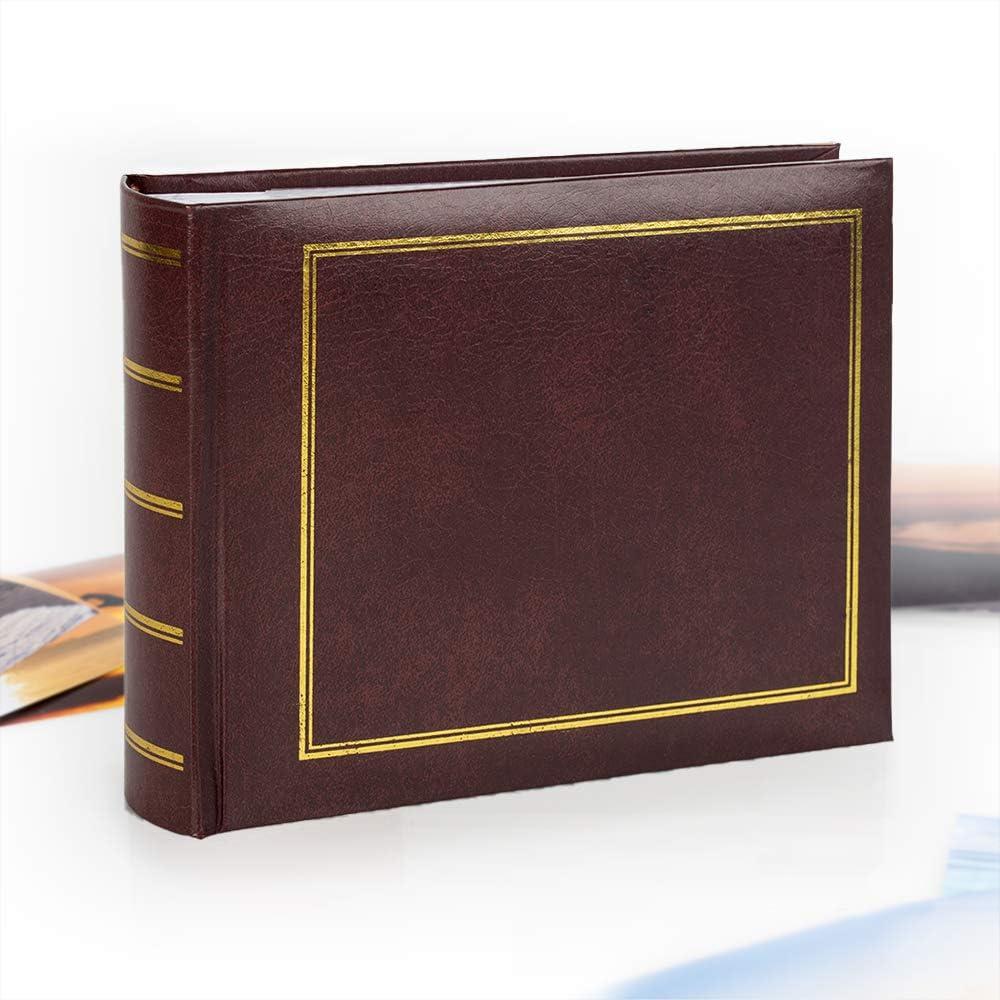 Victoria Collection Álbum de Fotos clásico, fácil de Rellenar, con Forma de Libro y método, para almacenar 100 Fotos en un álbum de Fotos de diseño Tradicional y Atemporal: Amazon.es: Hogar