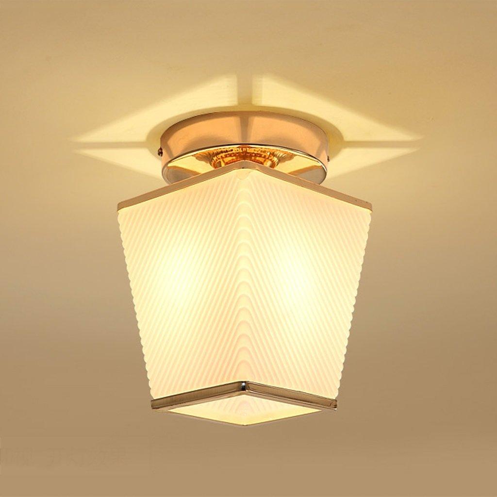 Deckenleuchte ZHAOJING Eingangslampe LED Korridor Lampe Gang Lampe Balkon Lampe Moderne minimalistische Hall Lampe E14