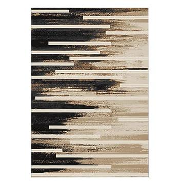 Einfache Und Edle Teppichmatte Matte Türmatten Couchtisch Teppich Gelb Braun  Schwarz Polypropylen Material Rechteckig 200 *
