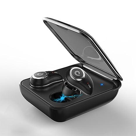 Mini Auriculares Bluetooth Inalámbricos - Bluetooth 4.2 Control Táctil Deportivos Invisible sin Cable Estéreo Cancelacion Ruido